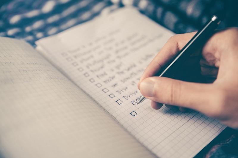 escrevendo listas de oracoes